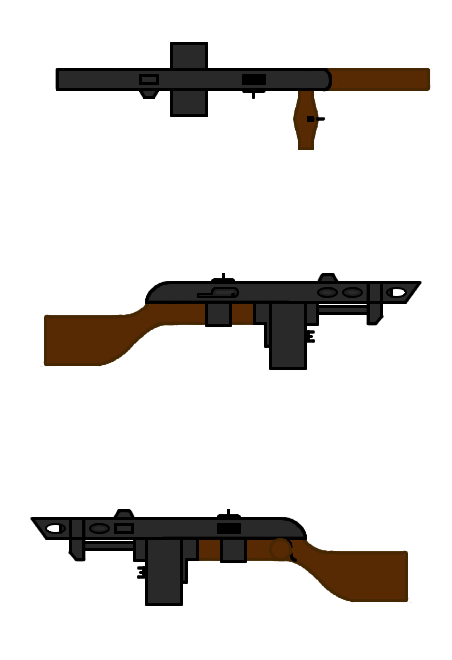 Pip's Combat Shotgun Stock Image by L9OBL