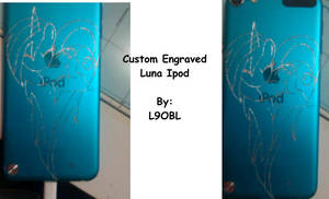 Custom Engraved Luna Ipod