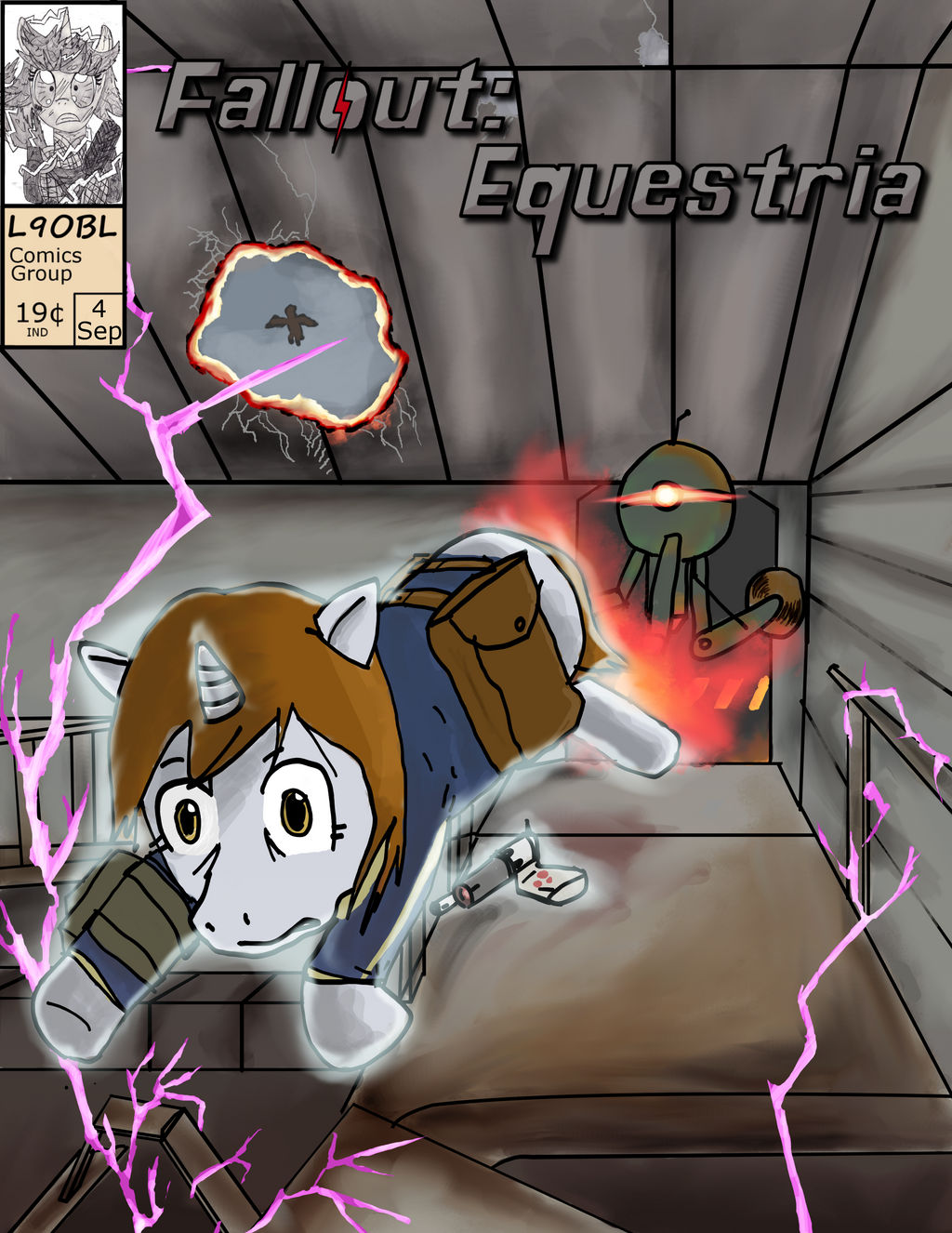 Fallout Equestria The Hand Drawn Comic Issue 4