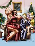 Big Tango Girl - Christmas Eve by WickedBust