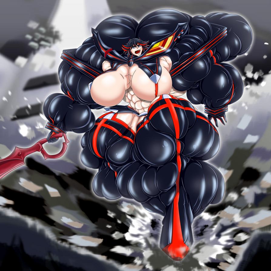 Ryuko Matoi - Half a Year of Training by WickedBust