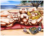 Beach Day by WickedBust