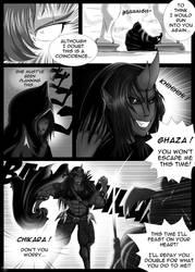 Manga-Test: Red Dragon Samurai by WickedBust