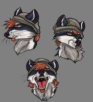 HC: He like's to eat suckers by Randomthewolfskie