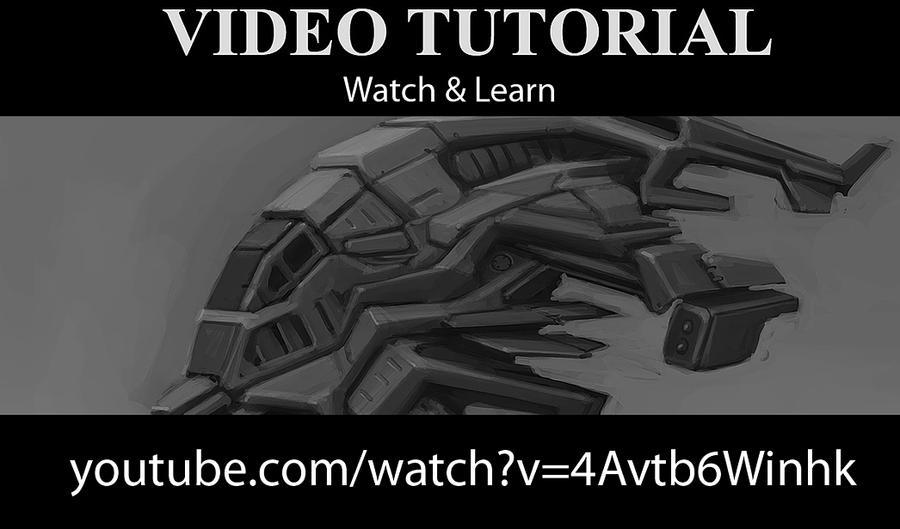 VideoTutorial - Gunship - Speedpainting by p00se2