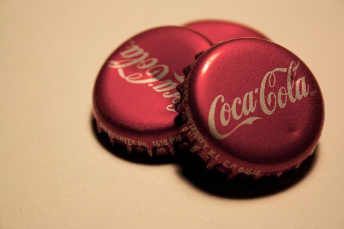 Coca  Cola Bottle Caps by IanSkills