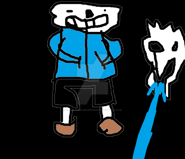 Sans Fanart No Mean Coments Only Good Ones By Iwidelydislikeurmum On