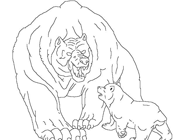 Line Art Bear : Ginga bear lineart by moonstring on deviantart