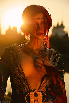 Triss Merigold cosplay ( Alternative outfit)