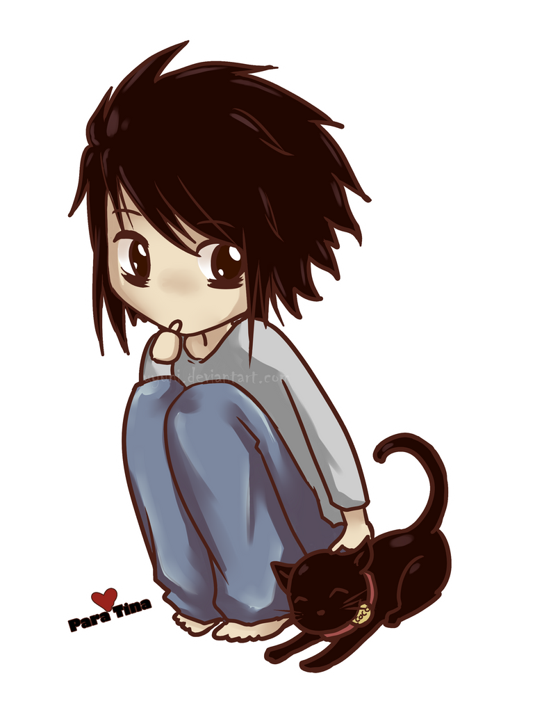 Death Note images Chibi L wallpaper and background photos