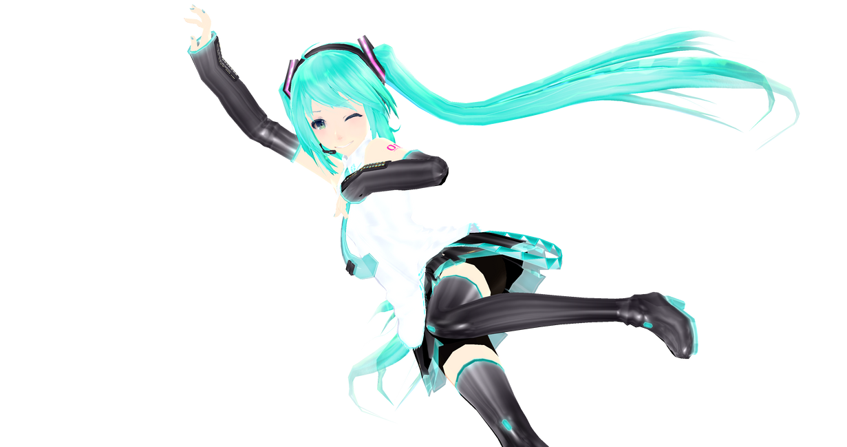 When You Originally Edited Miku's Face by K0K0R039