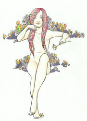 OC: Flower bride