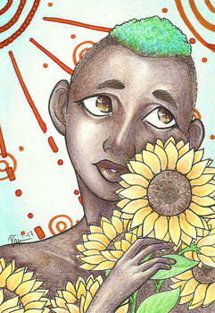 Gift: Sunflower boy