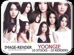 [STOCK-RENDER] Yoongie # 1 - Vy Tuzki