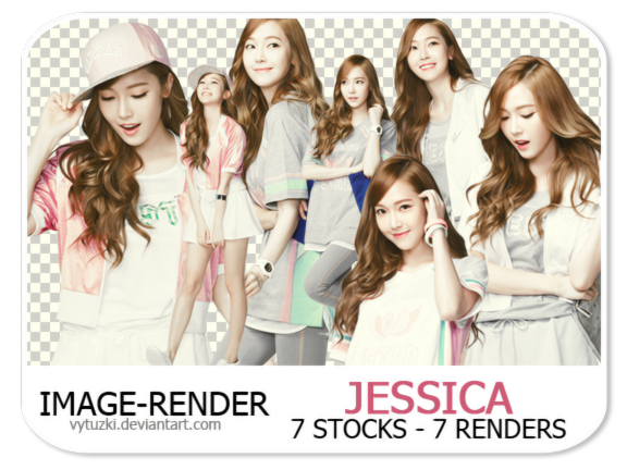 [STOCK-RENDER] Jessica # 1 - Vy Tuzki