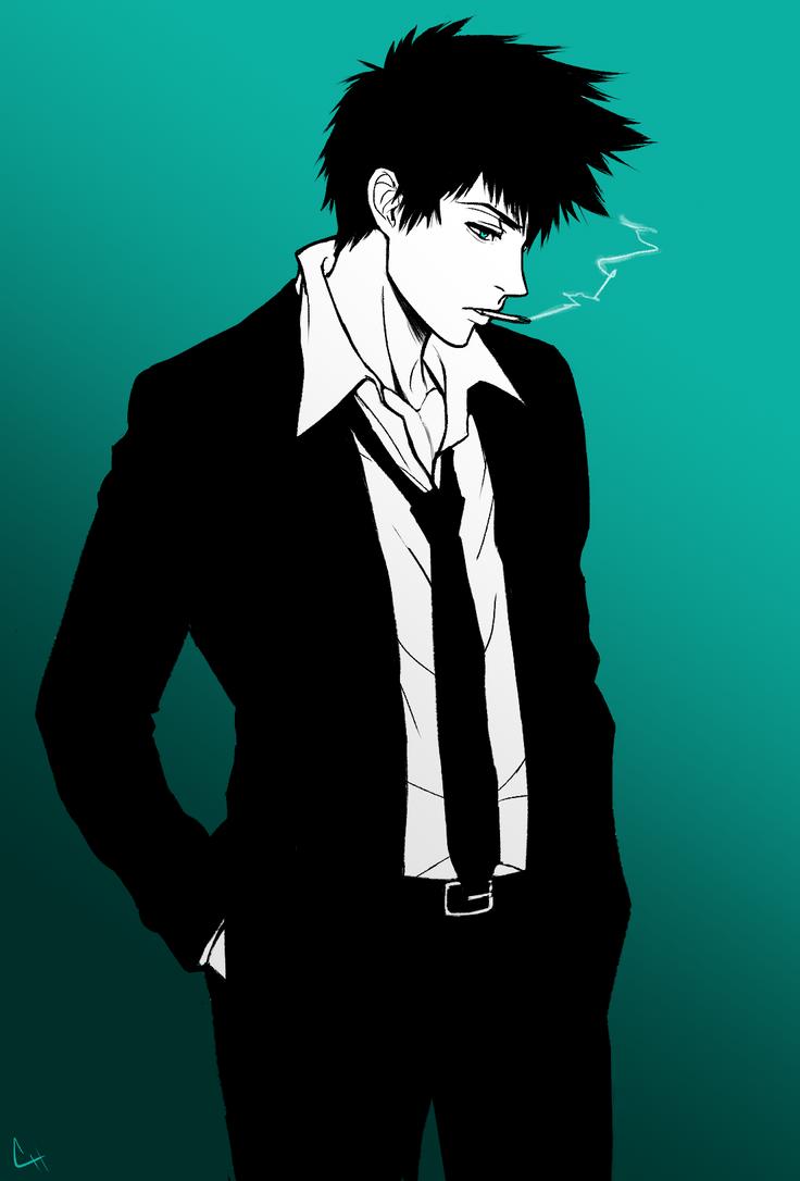 Kogami Shinya by chris-re5