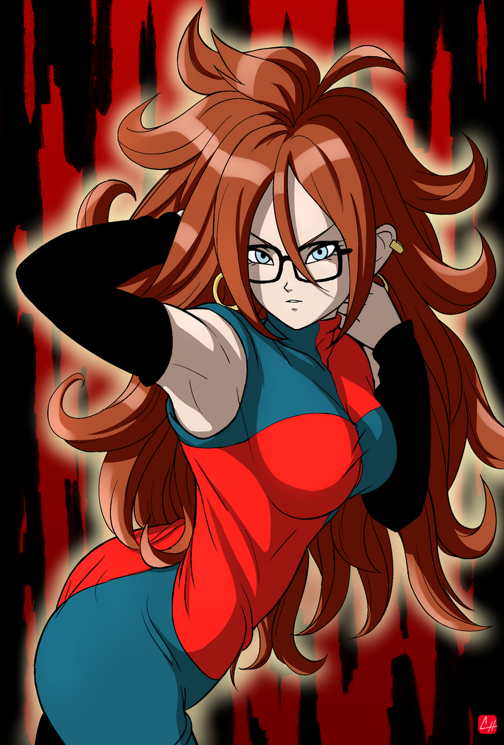 [ Dragon Ball FighterZ ] Android 21 by chris-re5 on DeviantArt