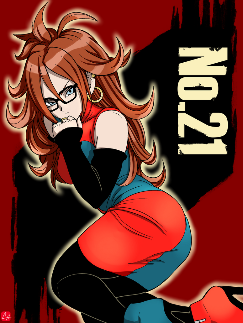 Dragon ball fighterz android 21 by chris re5 on deviantart - Dragon ball z 21 ...