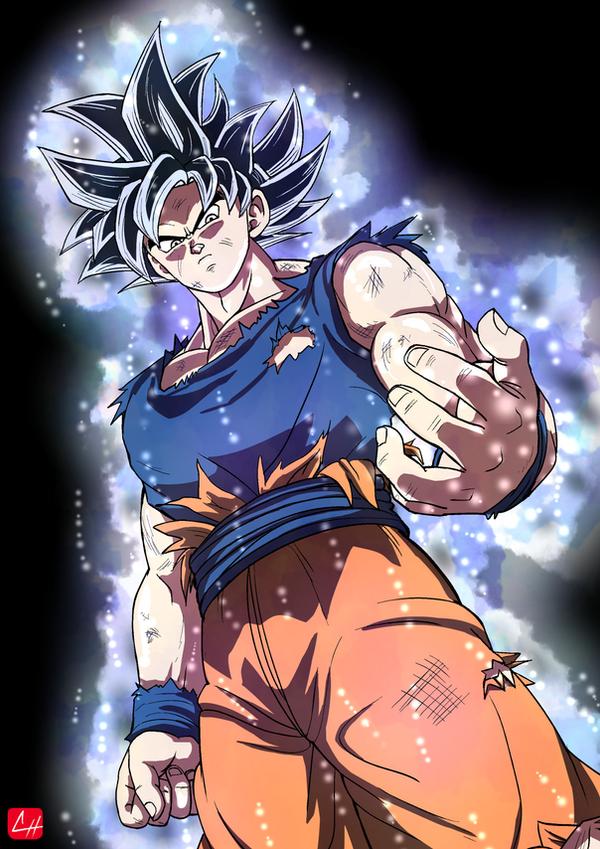 [Dragon Ball Super]  - Ultra Instinct - Goku by chris-re5
