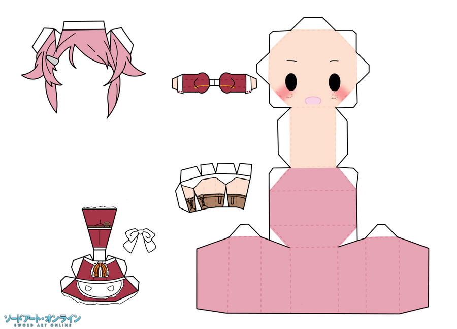 YiFans Awesome Blog: Templates of some papercraft!