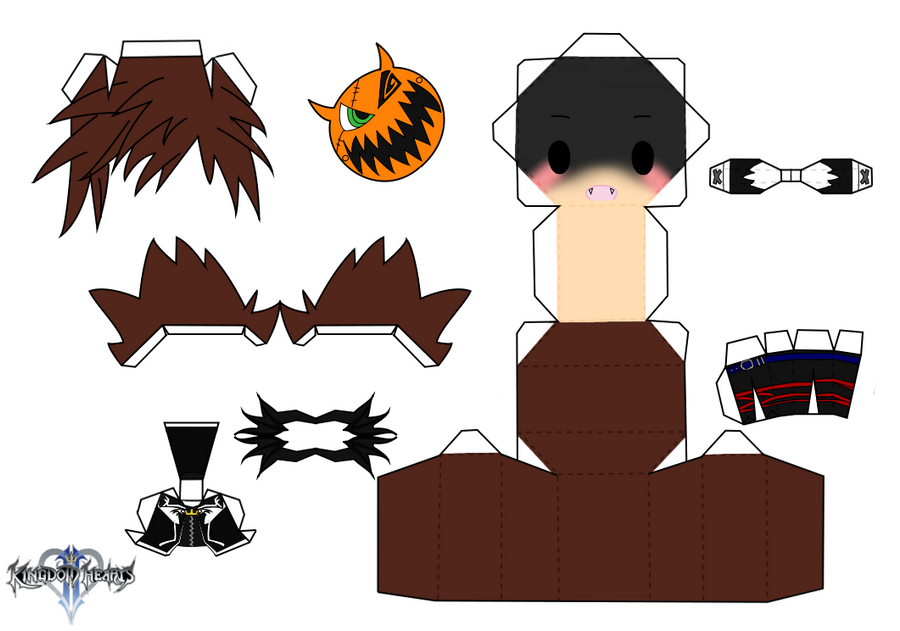 Halloween Town Sora by PiercePapercraft