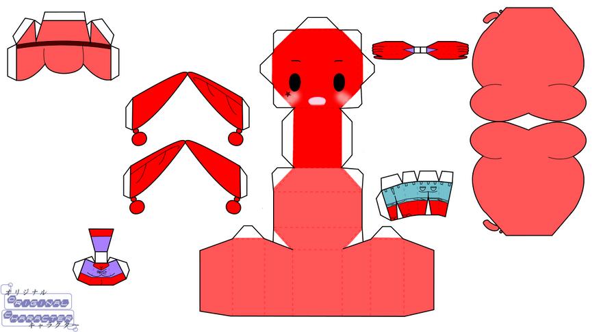 Rubi Redd by PiercePapercraft