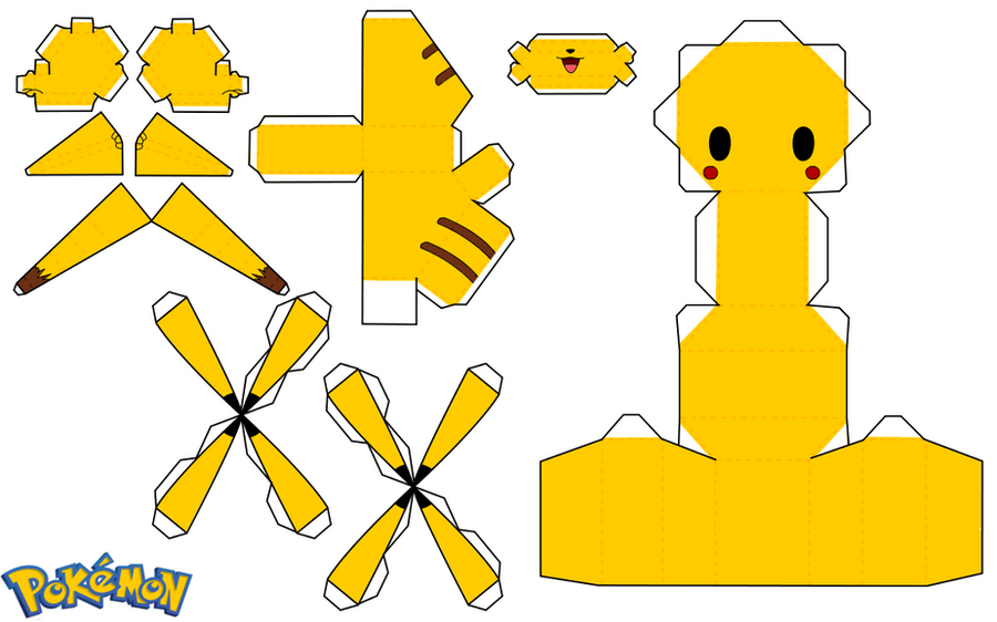 Pikachu by PiercePapercraft