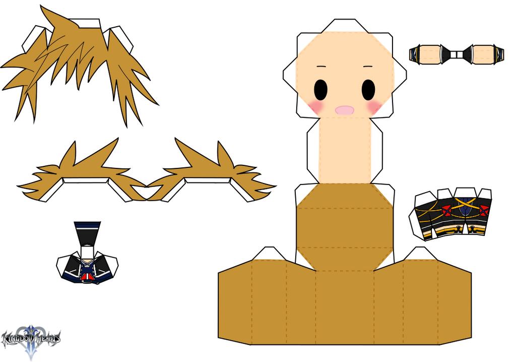 Sora by PiercePapercraft