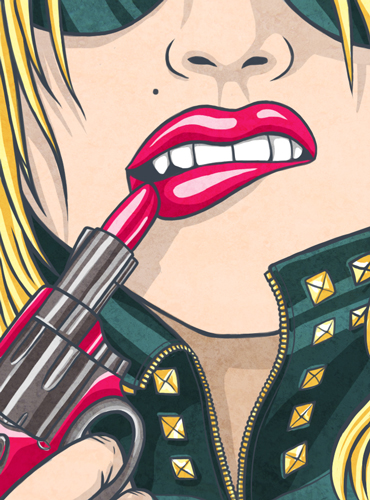 Lipstick Gun by sevsve