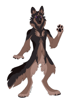 (Design) - GSD Werewoof - OPEN