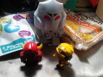 Big Headed Transformers by LittleKunai