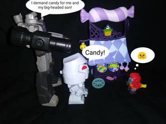 Candy Heist by LittleKunai
