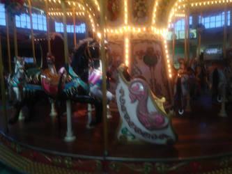 Mall Carousel by LittleKunai