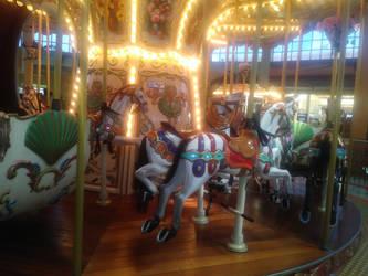 Mall Carousel 2 by LittleKunai
