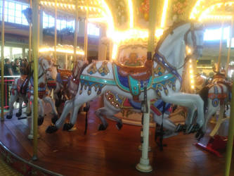 Mall Carousel 3 by LittleKunai
