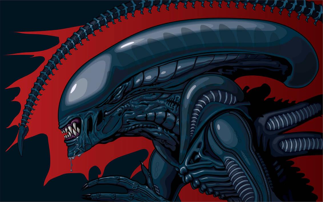 Alien Wallpaper by 1ASP1