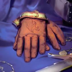 Legends of Norrath - Impskin Gloves by Kaiz0