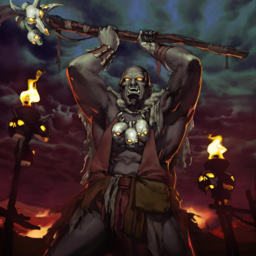 Legends of norrath crushbone oracle by kaiz0 on deviantart