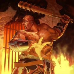 Legends of Norrath - Bloodrage Berserker by Kaiz0