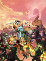 Dungeons and Dragons: Chronicles of Mystara by Kaiz0