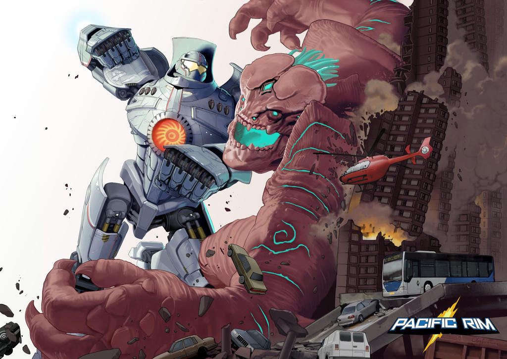Pacific Rim - Danger! by Kaiz0