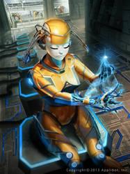 Galaxy Saga Metallo Femme by Kaiz0