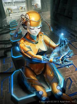 Galaxy Saga Metallo Femme