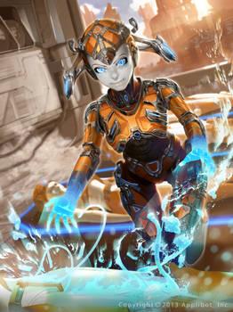 Galaxy Saga Metallo Femme advanced