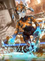 Galaxy Saga Metallo Femme advanced by Kaiz0