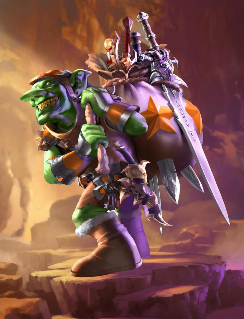 The Goblin Horder by Kaiz0