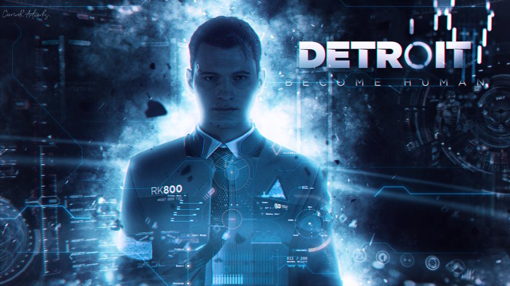 Detroit Become Human Connor Wallpaper: Detroit Become Human Wallpaper By Cemreksdmr On DeviantArt