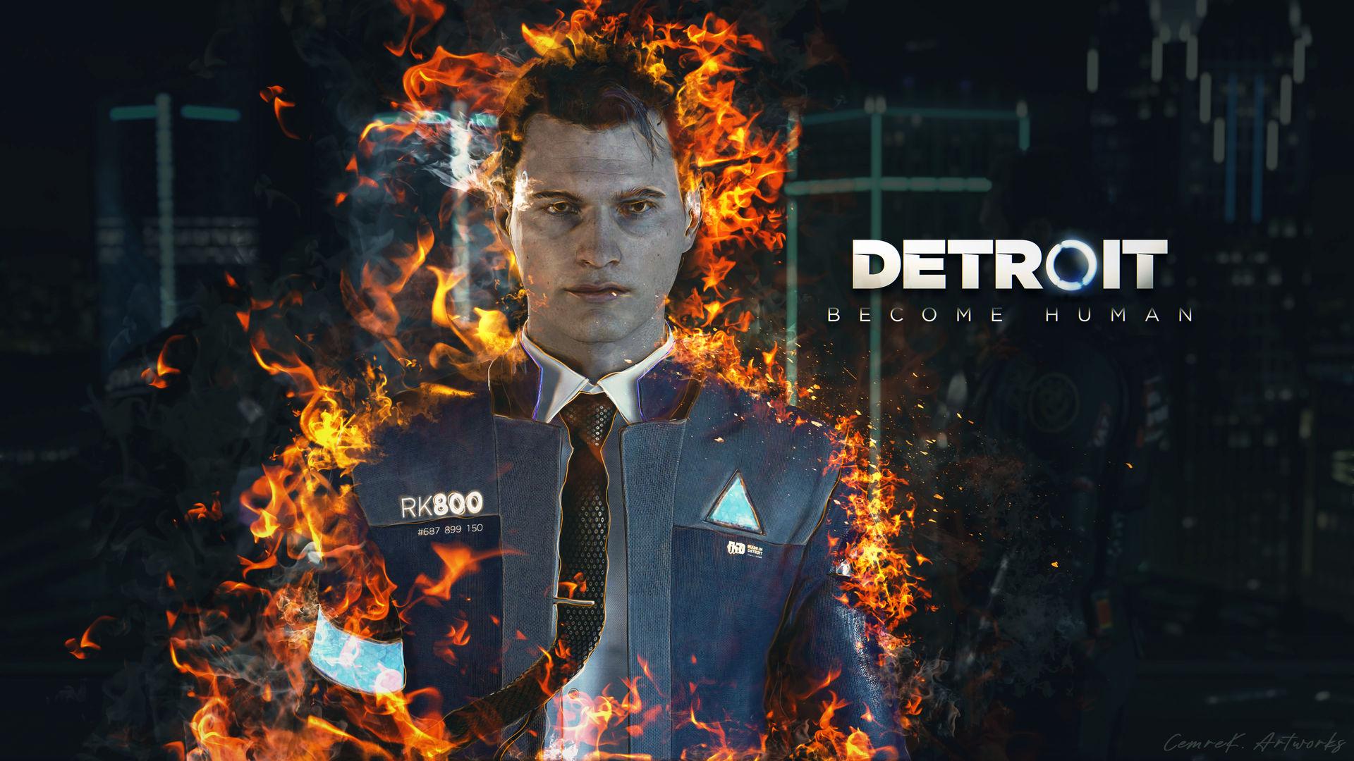 Detroit Become Human Wallpaper Artwork By Cemreksdmr On Deviantart