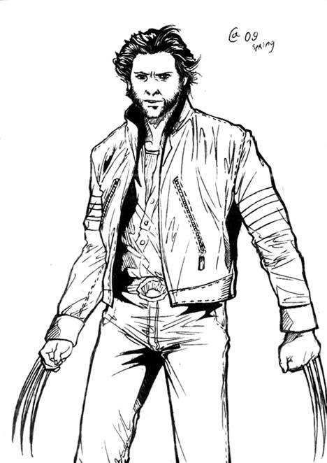 Wolverine By Autumn Sacura On Deviantart