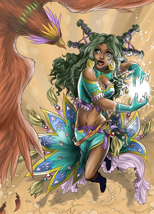 FEZ -Sorceress by Autumn-Sacura